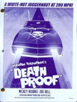 Death Proof Script Cover