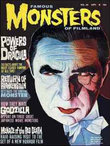 Famous Monsters Dracula