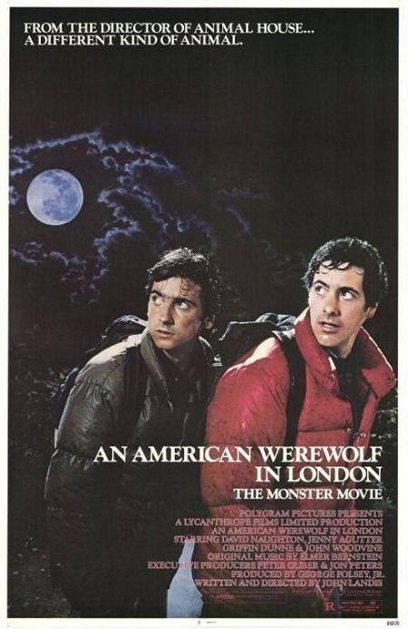 American Werewolf in London poster